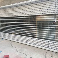 کرکره شفاف پلی کربنات زوار (1)