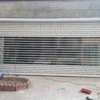 کرکره شفاف پلی کربنات زوار (6)